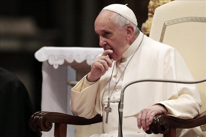Pope Francis  was picked as U-T San Diego's Person of the Year for 2014.