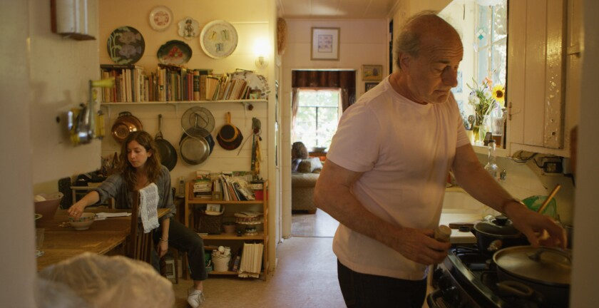 """(L-R) Jessy Hodges and Peter Friedman in """"Sundowners"""" movie by Lisa Steen, an official selection of"""
