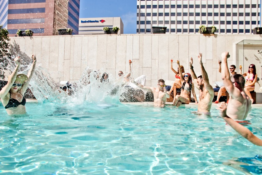 Hotel Palomar will host a Memorial Day weekend event featuring drinks, music and food.