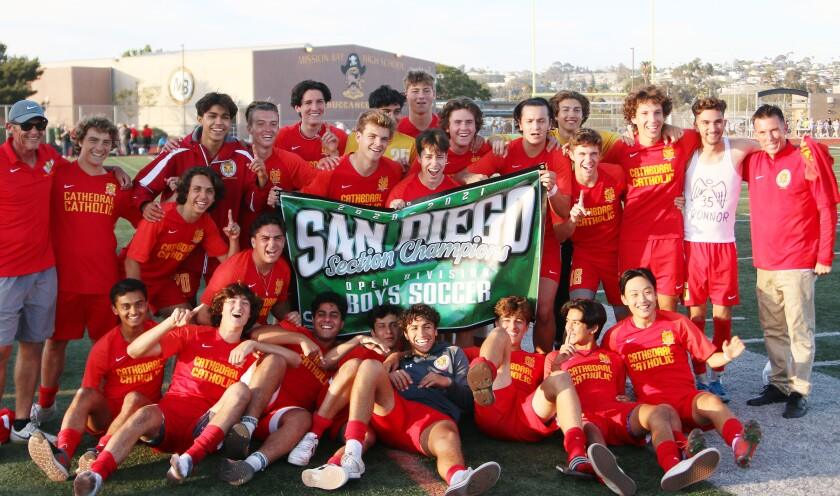 2021 CIF Open Division Boys Soccer champions
