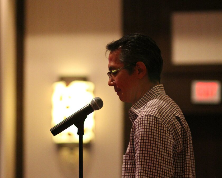 Phil Reyes, one of the Parkinson's patients in Summit 4 Stem Cell, urges California's stem cell agency to support its research.