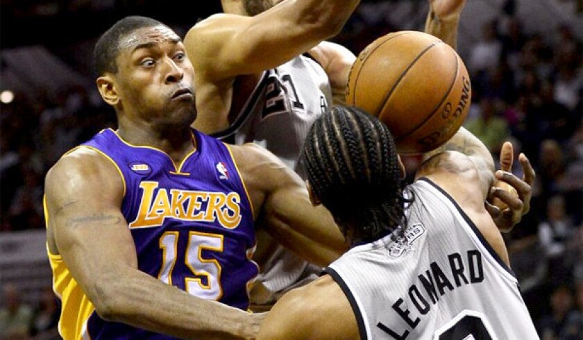 Metta World Peace took to Twitter to announce that he had fluid drained from a cyst in his knee on Friday.