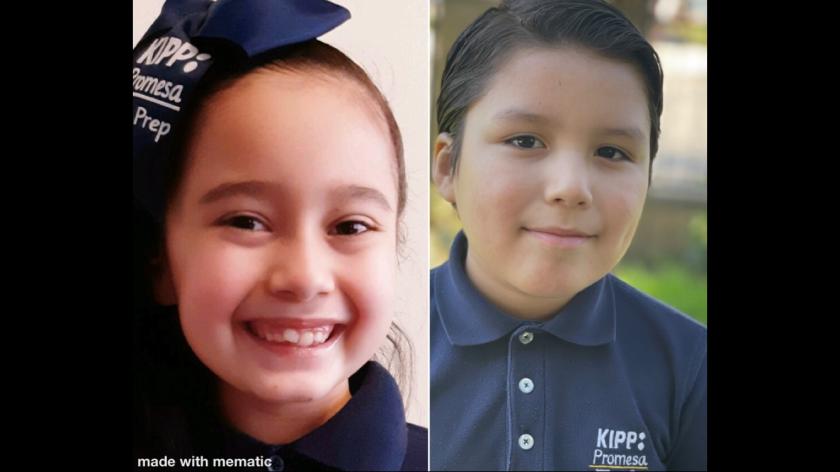 Ellie Rojas y Óscar Pérez II dieron su mensaje por medio de cartas escritas por ellos mismos.