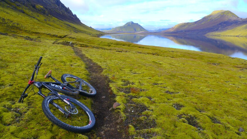 Spend six days biking the southern coast of Iceland on a Trek Travel trip in July.