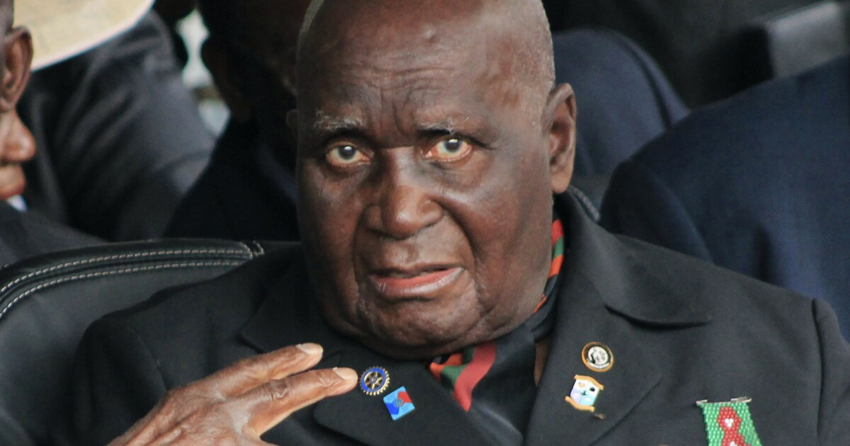 Kenneth Kaunda, founding president of Zambia and foe of colonial rule, dies at 97