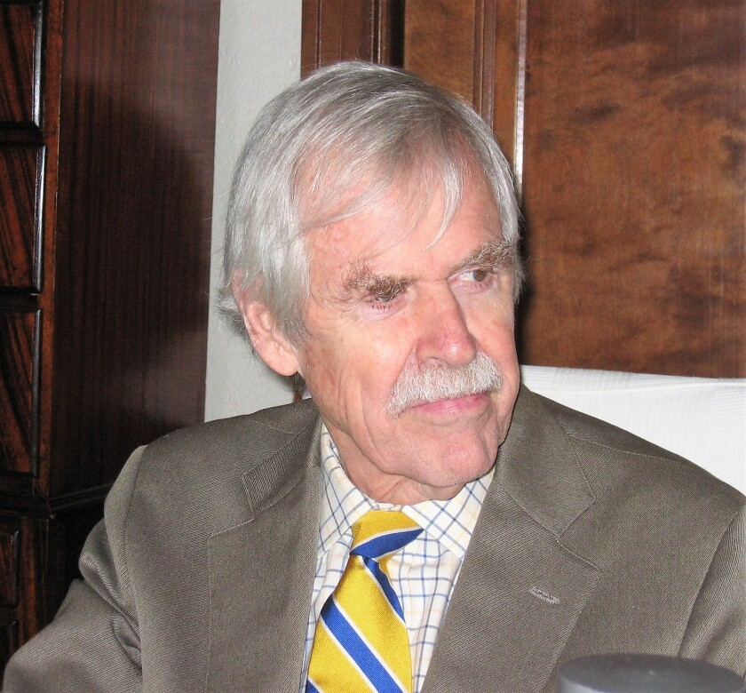 Former Los Angeles Times correspondent Donald Shannon