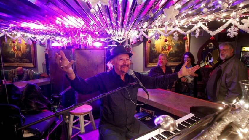 SAN DIEGO, December 26, 2018 | Pianist Kenny Ard takes his place at the piano on his last night of p