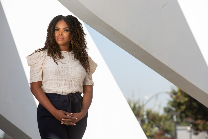 """""""This is a great opportunity to address inequalities for Black and Brown people,"""" Compton Mayor Aja Brown says."""