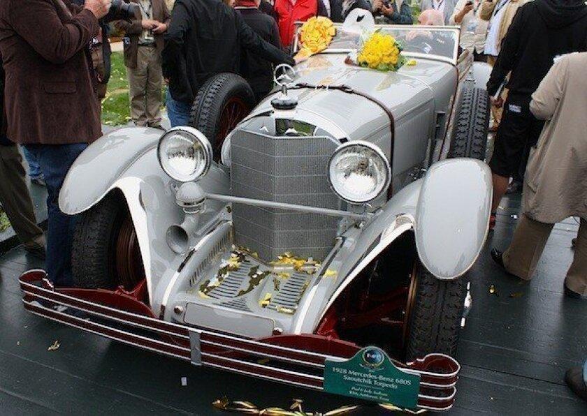 This 1928 Mercedes-Benz 680S Saoutchik Torpedo won the prestigious Best of Show award at the 2012 Pebble Beach Concours d'Elegance.