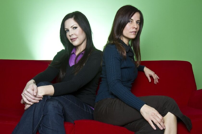 """Christa Campbell, left, and Lati Grobman will produce a remake of George A. Romero's """"Day of the Dead."""""""