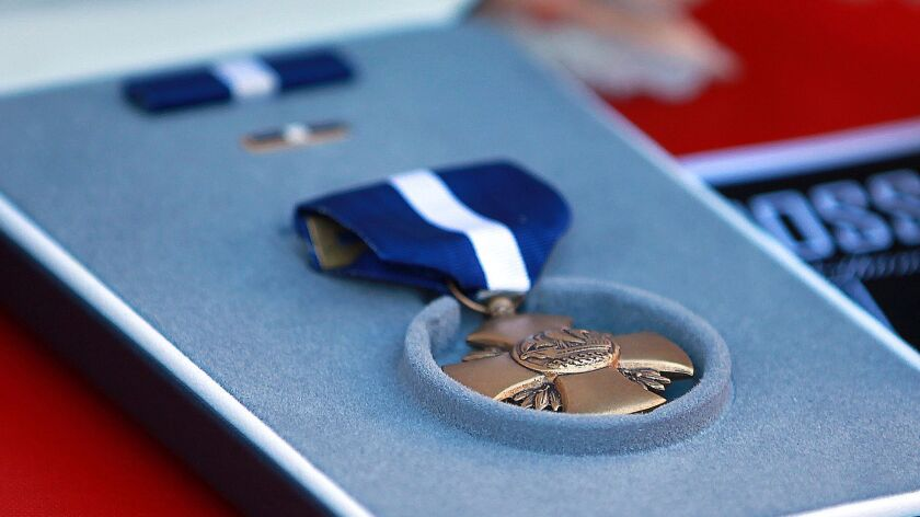 The Navy Cross is the second-highest decoration for the Navy and Marine Corps.