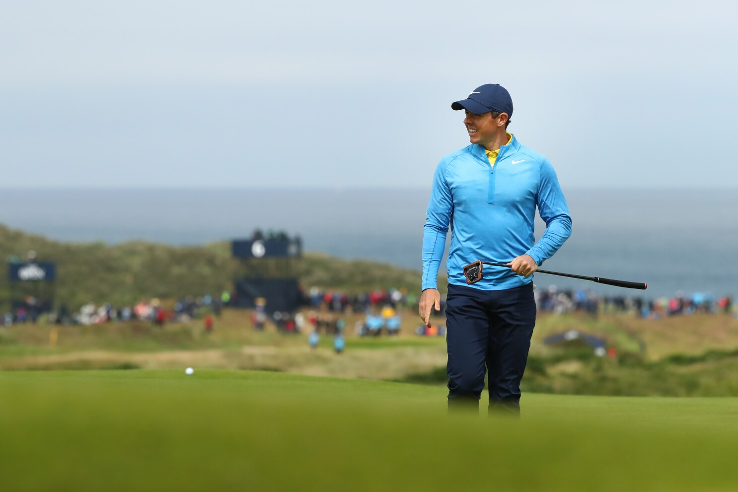 British Open returns 68 years later to a changed Northern Ireland - Los Angeles Times