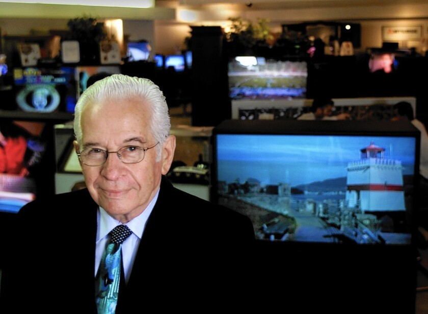 Paul Goldenberg turned his small TV repair shop into a retail powerhouse, selling big-screen TVs from his La Habra store for decades.