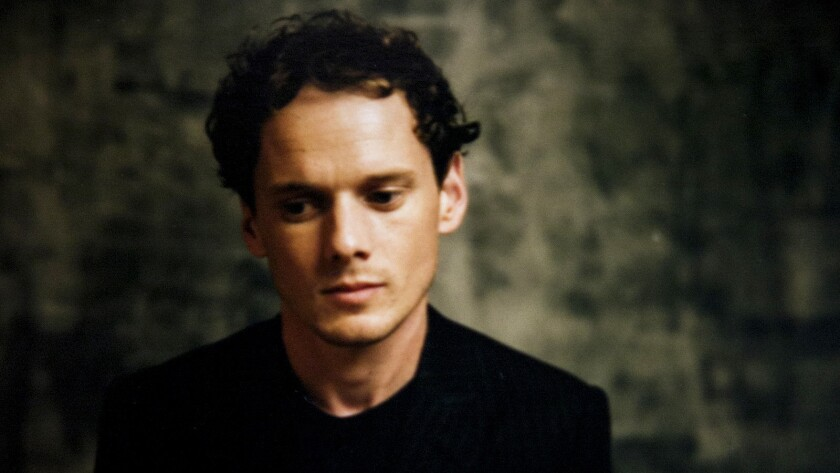 "Anton Yelchin, promoting the movie ""Green Room,"" is photographed in the L.A. Times photo studio at the 40th Toronto International Film Festival in 2015."