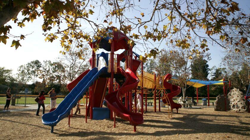 Tuesday, December 1st 2009, Carmel Mountain Ranch, San Diego, CA USA- Highland Ranch Park was built
