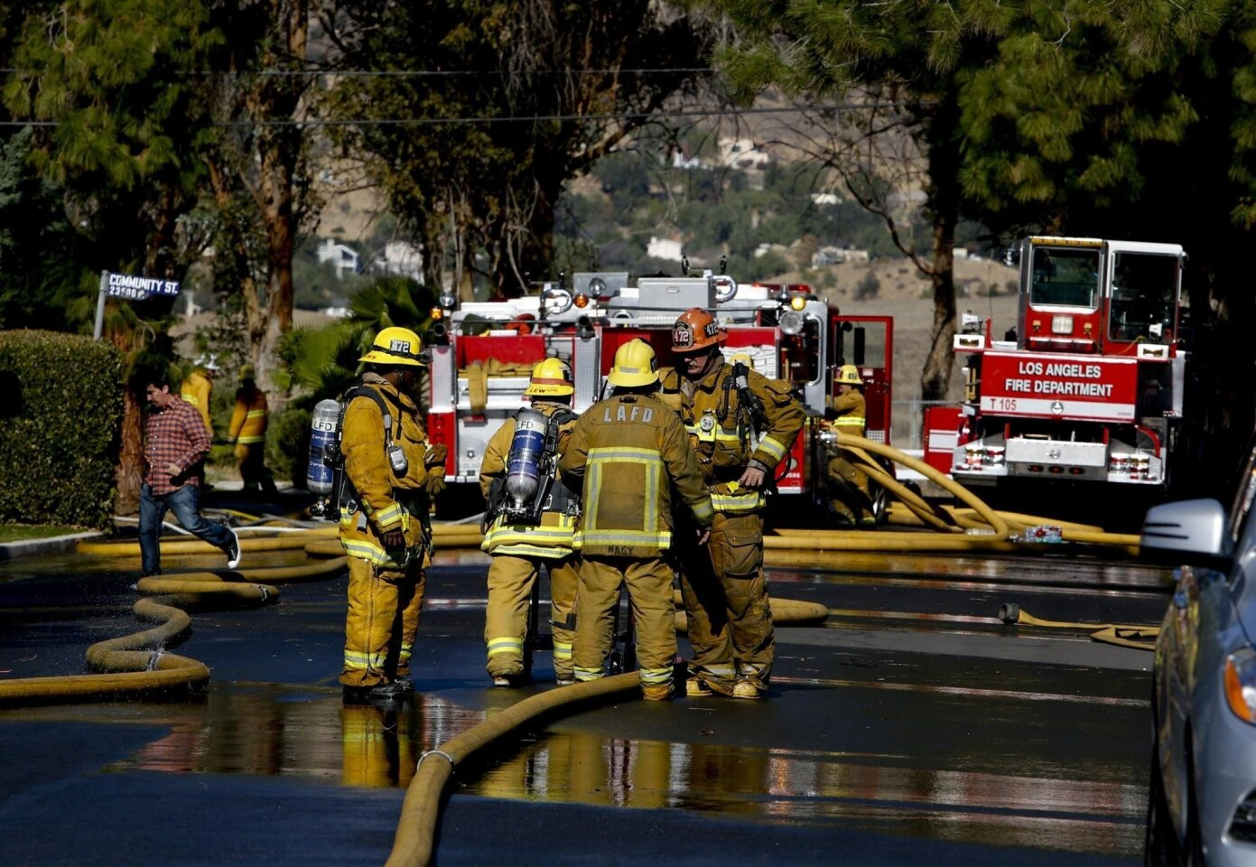 Firefighter overtime in California