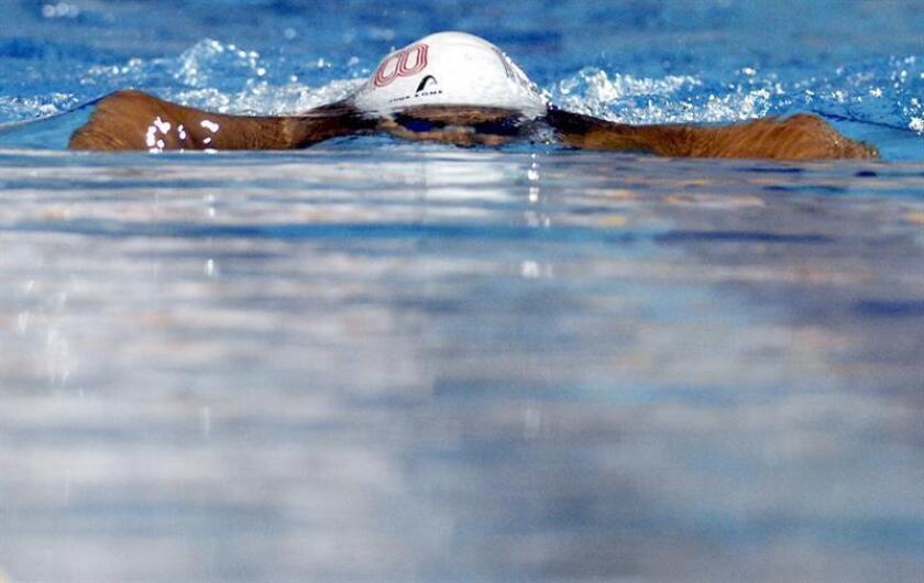 Fernanda Armenta Gastón, exseleccionada mexicana de natación, recibió un disparo de arma de fuego que le perforó un pulmón, y aunque se encuentra estable, su estado es delicado, reveló hoy su madre. EFE/ARCHIVO