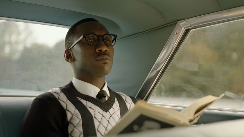 """This image released by Universal Pictures shows Mahershala Ali in a scene from """"Green Book."""" (Univer"""