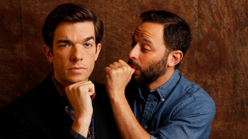 John Mulaney and Nick Kroll will be hosting the 2017 Independent Spirit Awards on Saturday.