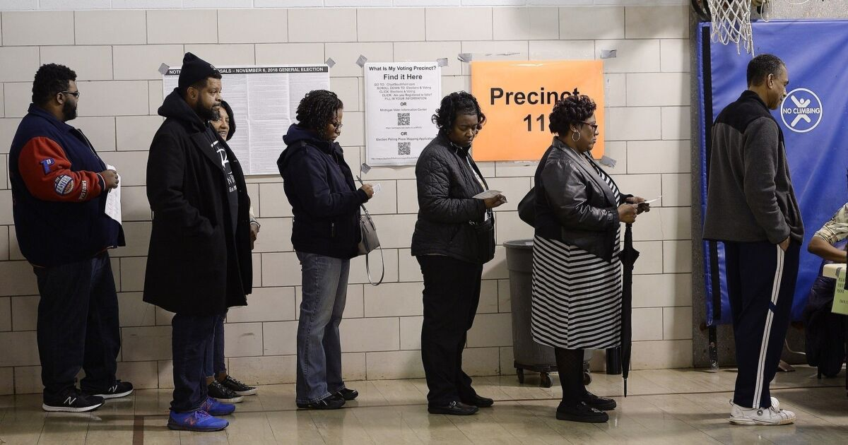 Opinion: Black millennials who refuse to vote are falling for a political fraud