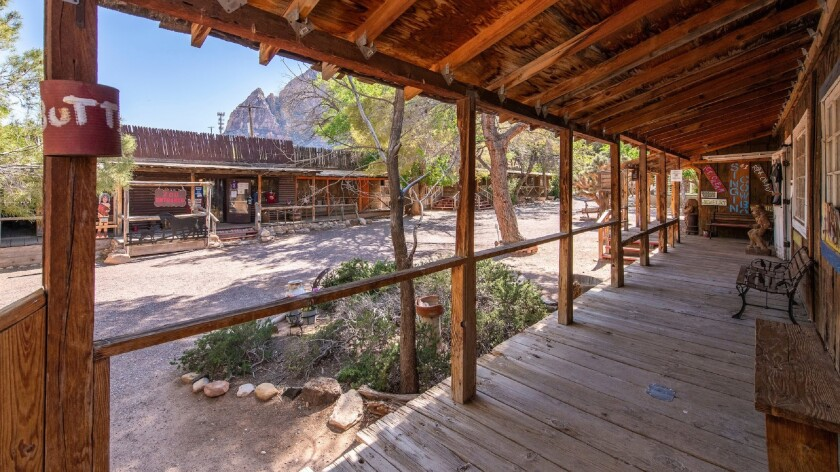 Scenes at the Bonnie Springs Ranch wild west town attraction in the Spring Mountains outside Las Veg