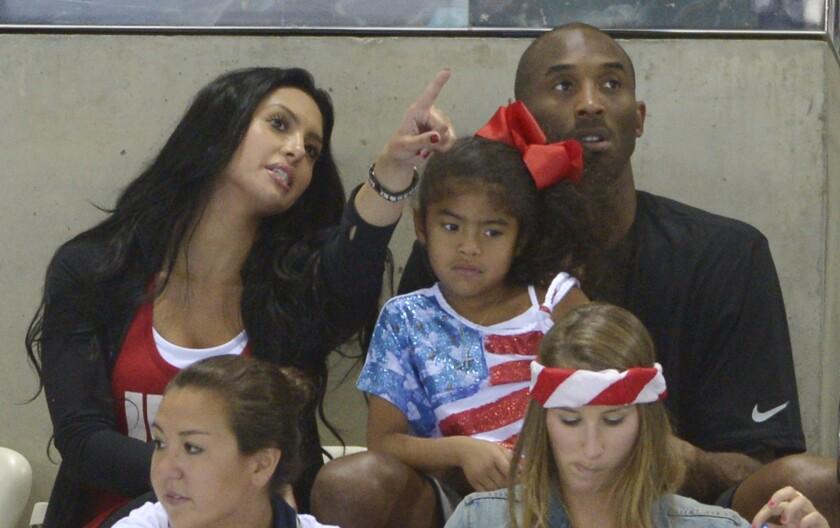 Bryant daughters age kobe Kobe Bryant: