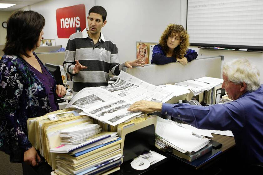 Pacific Palisades newspaper junkie buys his own paper