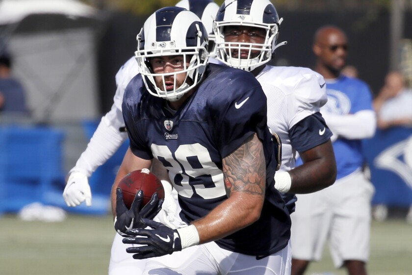 new styles ceacd 88c04 Rams rookies projected to be as influential as last two ...