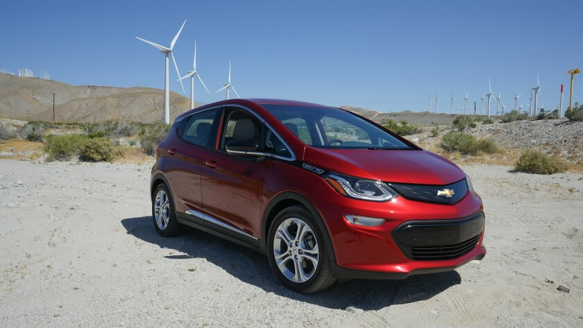 Chevrolet has sold 2,735 Bolt EVs in California in the first quarter of 2017.