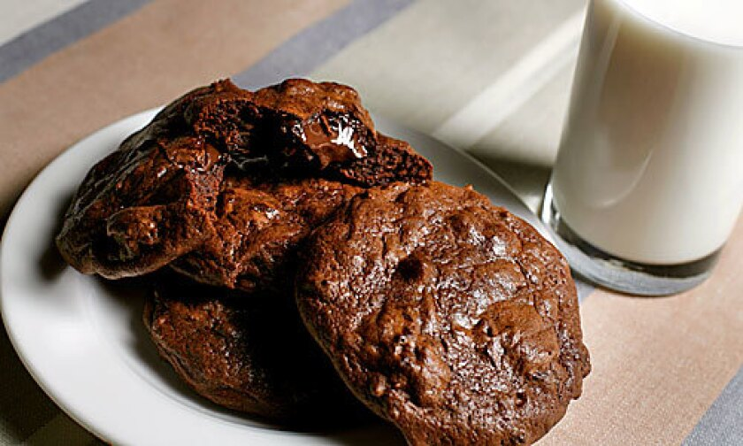 CHOCOLATE: Are these ooey-gooey double-chocolate cookies from Milk the best ever?