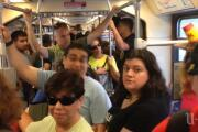 Trolley to comic-con