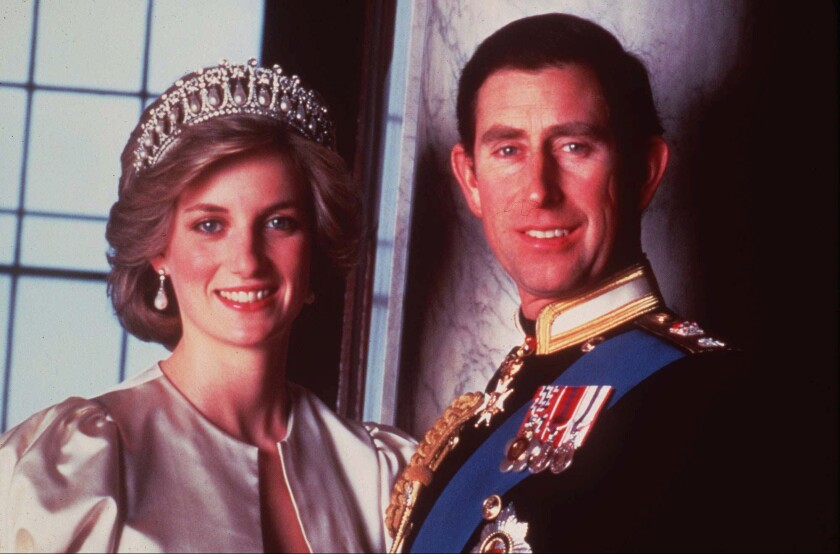 Prince Charles and Diana, Princess of Wales, in 1985