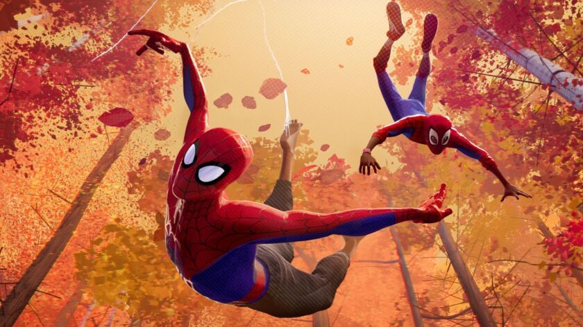 **HOLIDAY SNEAKS 2018-DO NOT USE PRIOR TO NOV. 4, 2018***Peter Parker and Miles Morales in Sony Pict