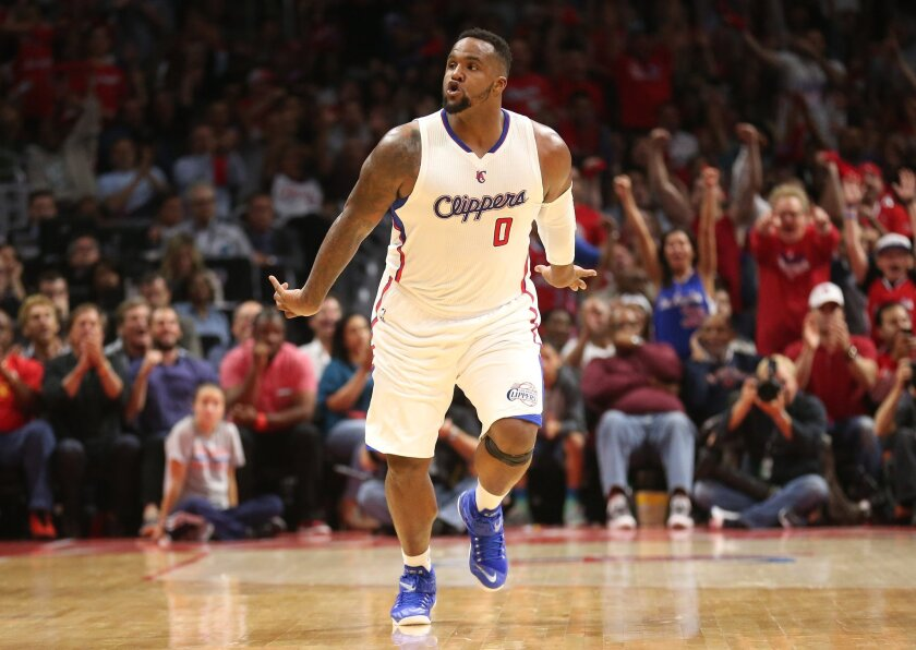 Clippers' Glen Davis, who has been known to energize his teammates and the crowd, may not be up for Game 7 after injuring his ankle in Game 6.