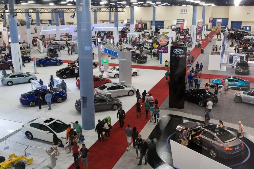 El auto show de Miami