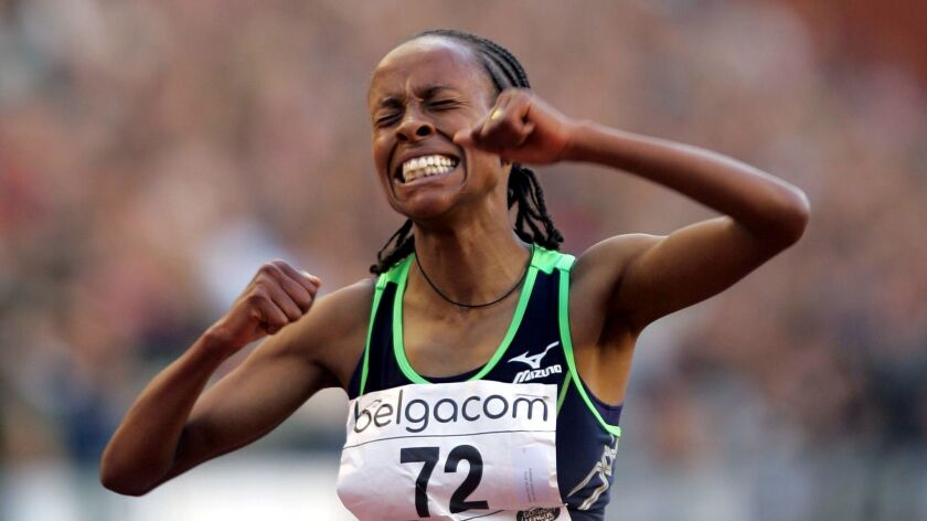 Ethiopia's Meseret Defar, winner of two Olympic gold medals in the 5,000 meters, will run in the half marathon on Sunday.