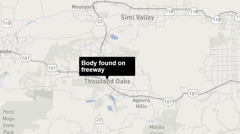 101 North body found