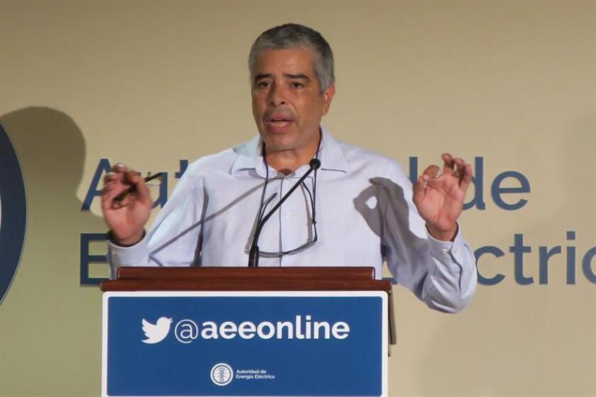 El director ejecutivo de la Autoridad de Energía Eléctrica (AEE) de Puerto Rico, Ricardo Ramos. EFE/ARCHIVO