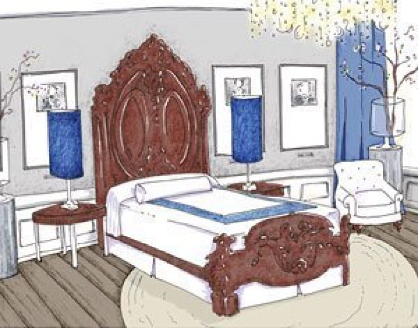 "<strong>THE LINCOLN BEDROOM:</strong> <em>(Kim Myles, designer and host of HGTV's ""Myles of Style"")</em> Talk about gilding the lily! The current Lincoln Bedroom hides its most famous feature — the bed — behind layers of fussy fabric, busy prints and stodgy color. I've chosen to bring the room back"