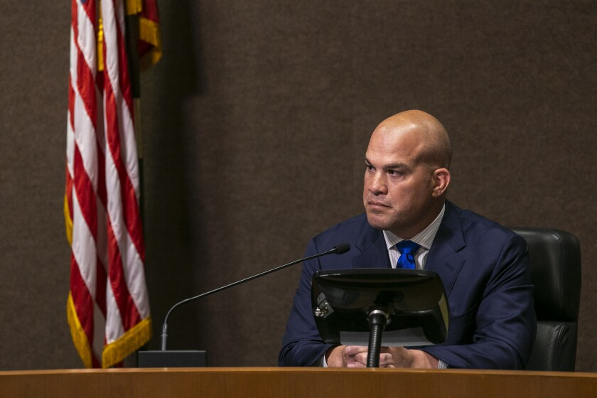 Mayor Pro Tem Tito Ortiz resigned from the City Council on Tuesday.