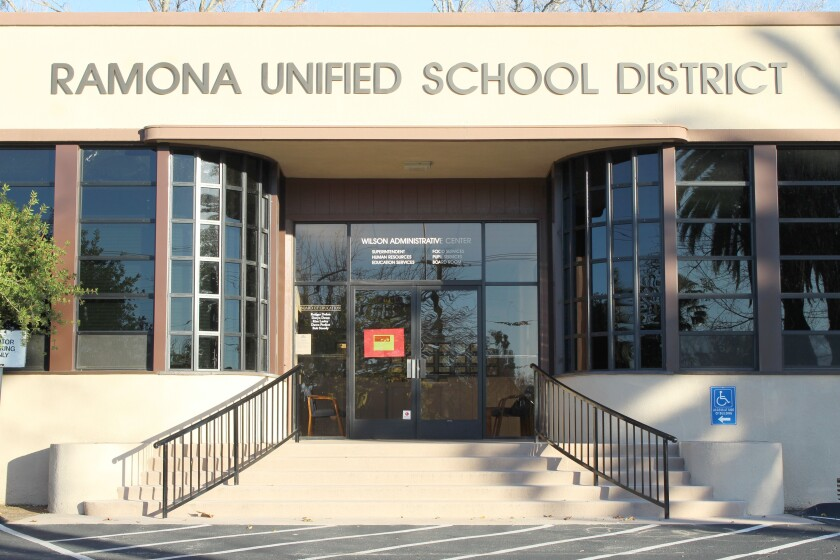 The Ramona Unified School District's school board members considered two surveys at their March 11 meeting.