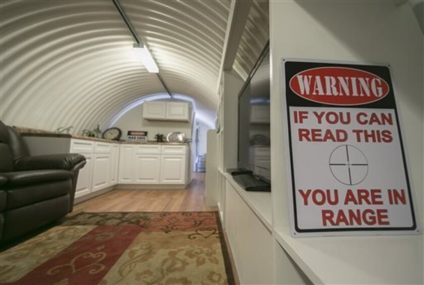 Small California city welcomes doomsday bunkers - The San