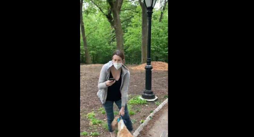 A widely watched video of a confrontation between a white dog walker and an African American birder in Central Park has sparked accusations of racism.