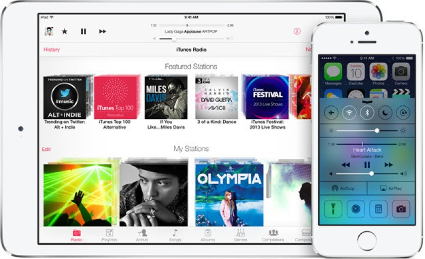 Apple's new iOS 7 mobile operating system has been wildly popular.