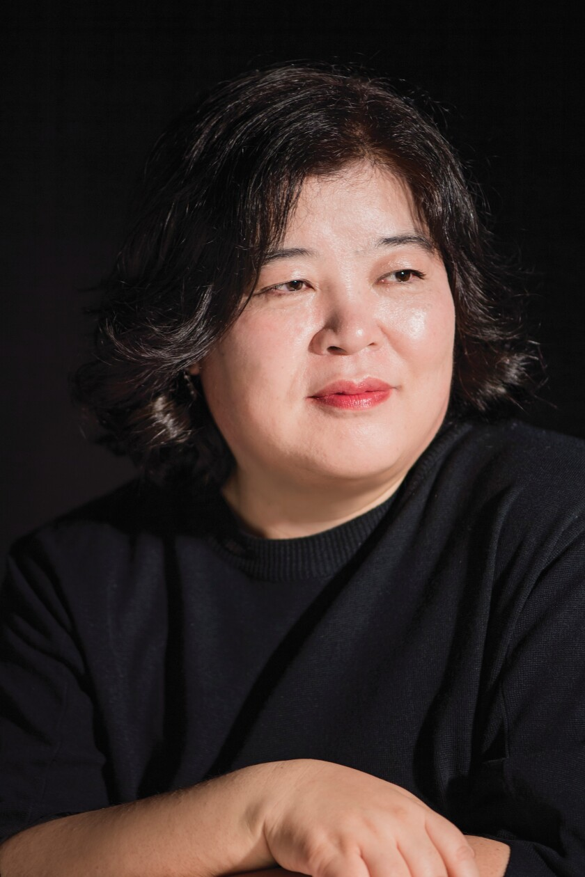 "Mi-Ae Seo, the author of ""The Only Child."""