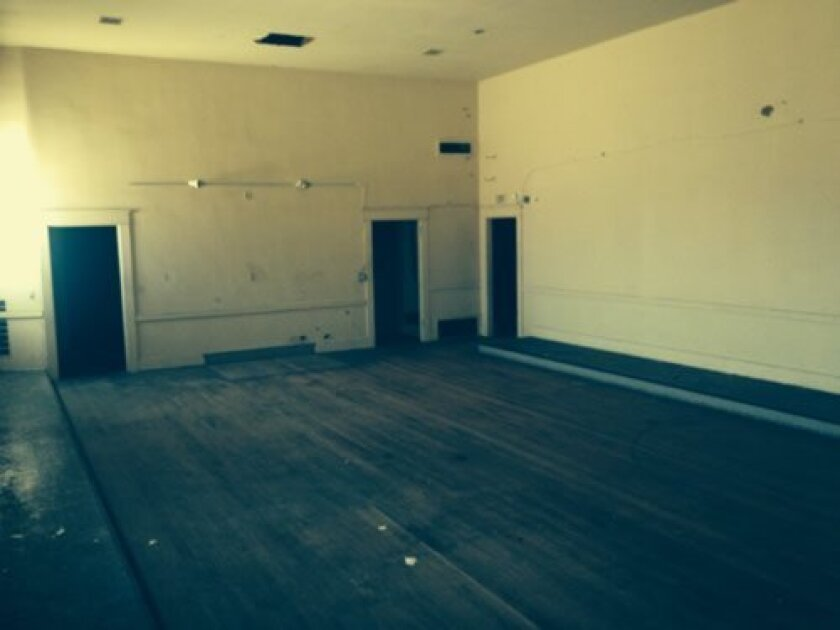 This nearly 15-foot-tall space, located on the second floor of the Girard Avenue building formerly home to Burns Drugs, has reportedly been used for everything from a fraternal meeting hall to a basketball court.