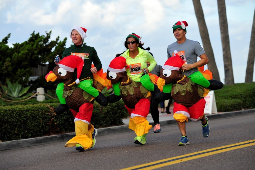 Oceanside Turkey Trot.