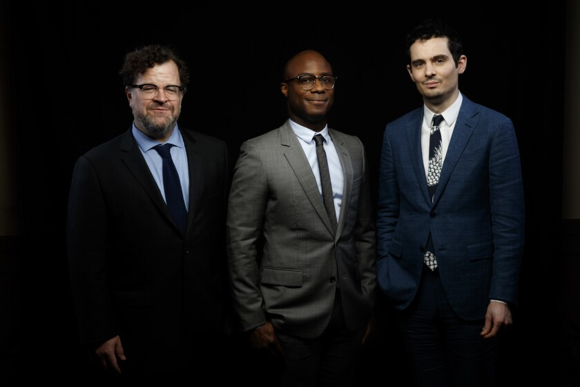 Kenneth Lonergan, Barry Jenkins and Damien Chazelle