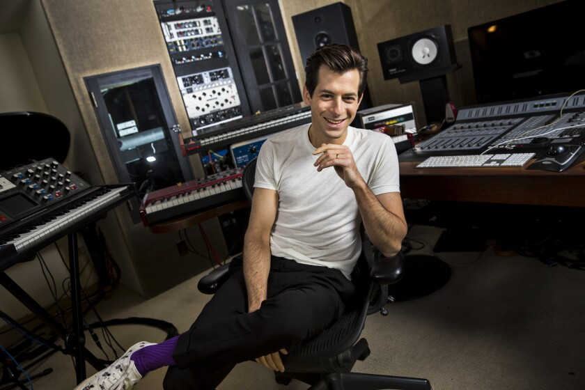 Mark Ronson will host an A-list livestream concert starting at 3 p.m. Pacific today.