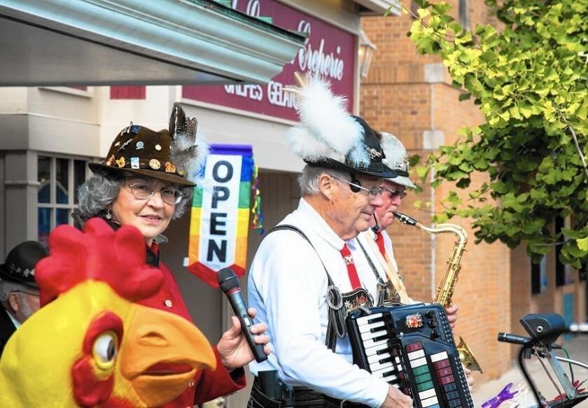 Lake Geneva, Wis., celebrates Oktoberfest Oct. 8-9 with German music, food and more.